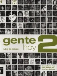 Gente Hoy 2. Libro de trabajo - okładka książki