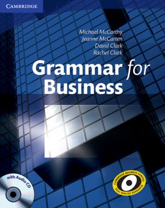 Grammar for Business (+ CD) - okładka podręcznika