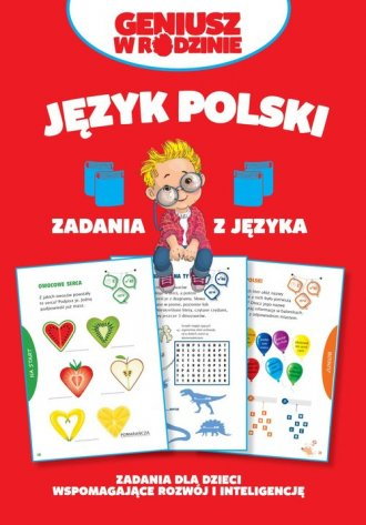 Język polski. Zadania z języka - okładka książki