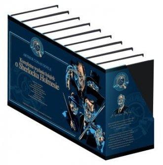 Kompletne wydanie książek o Sherlocku - pudełko audiobooku