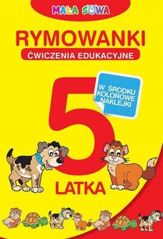 Mała sowa. Rymowanki 5-latka - okładka książki