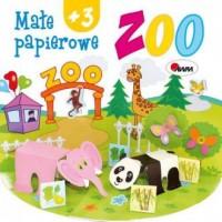 Małe papierowe zoo - okładka książki