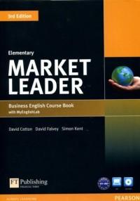 Market Leader 3Ed. Elementary Business English Course Book with MyEnglishLab - okładka podręcznika