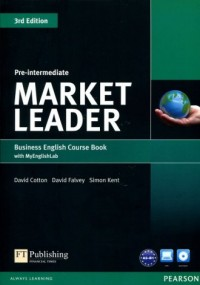 Market Leader 3Ed. Pre-Intermed Busines English Course Book with MyEnglishLab - okładka podręcznika