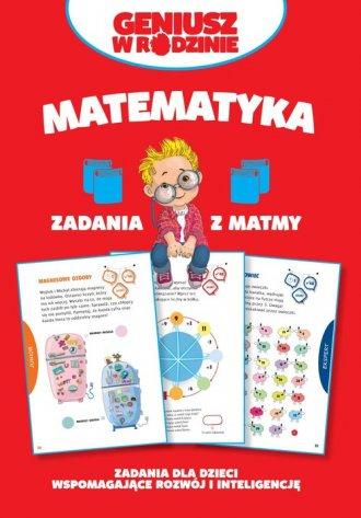 Matematyka. Zadania z matmy - okładka książki