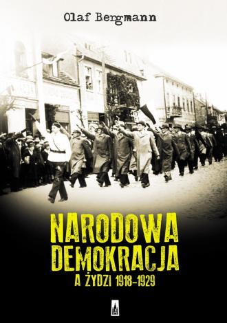 Narodowa Demokracja a Żydzi 1918-1929 - okładka książki