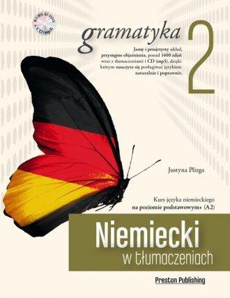 Niemiecki w tłumaczeniach. Gramatyka - okładka podręcznika