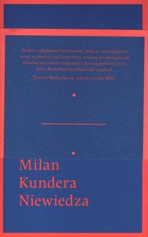 Niewiedza - okładka książki