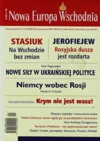 Nowa Europa Wschodnia 1/2015 - okładka książki