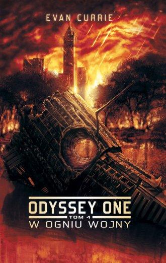 Odyssey One. Tom 4. W ogniu wojny - okładka książki