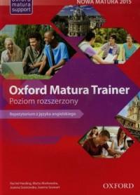 Oxford Matura Trainer. Repetytorium. Poziom rozszerzony - okładka podręcznika