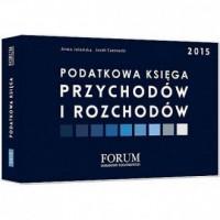 Podatkowa księga przychodów i rozchodów 2015 - okładka książki