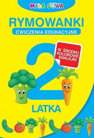 Rymowanki 2-latka - okładka książki