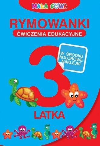 Rymowanki 3-latka - okładka książki