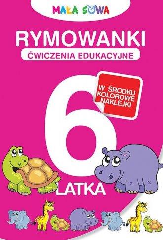 Rymowanki 6-latka - okładka książki