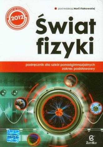 Świat fizyki. Podręcznik. Szkoła - okładka podręcznika