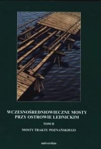 Wczesnośredniowieczne mosty przy Ostrowie Lednickim. Tom 2. Mosty traktu poznańskiego - okładka książki