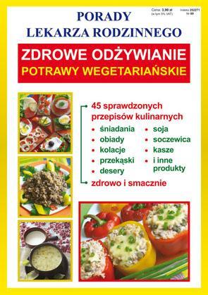 Zdrowe odżywianie. Potrawy wegetariańskie. - okładka książki