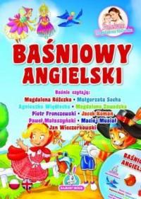 Baśniowy angielski (+ CD) - okładka książki