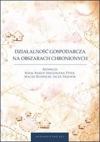 Działalność gospodarcza na obszarach chronionych - okładka książki