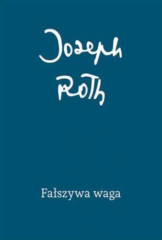 Fałszywa waga - okładka książki
