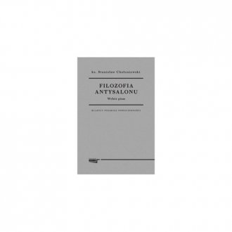 Filozofia antysalonu - okładka książki