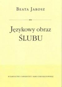 Językowy obraz ślubu - okładka książki