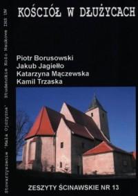 Kościół w Dłużycach - okładka książki