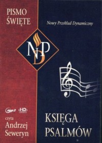 Księga Psalmów. Pismo Święte (CD) - pudełko audiobooku