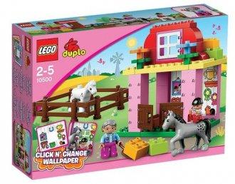 LEGO Duplo. Stadnina - zdjęcie zabawki, gry