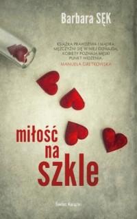Miłość na szkle - okładka książki