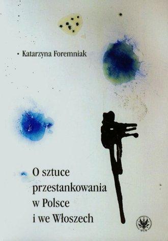 O sztuce przestankowania w Polsce - okładka książki