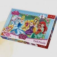 Odpoczynek na łące (puzzle maxi 24-elem.) - zdjęcie zabawki, gry