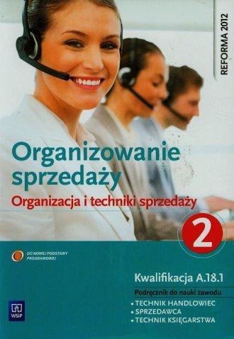 Organizowanie sprzedaży. Organizacja - okładka podręcznika