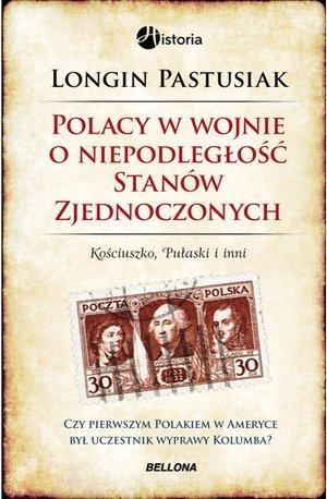 Polacy w wojnie o wolność Stanów - okładka książki