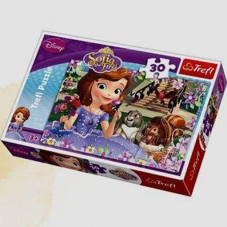 Sofia. Pachnące róże (puzzle 30-elem.) - zdjęcie zabawki, gry
