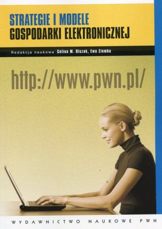 Strategie i modele gospodarki elektronicznej - okładka książki