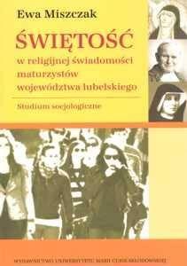 Świętość w religijnej świadomości - okładka książki