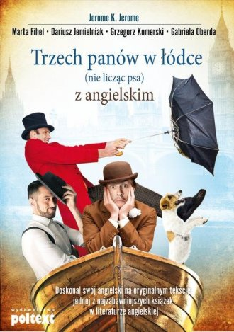 Trzech panów w łódce (nie licząc - okładka książki