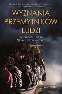 Wyznania przemytników ludzi - okładka książki