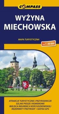 Wyżyna Miechowska mapa (skala 1:60 - okładka książki