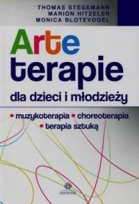 Arteterapie dla dzieci i młodzieży. - okładka książki