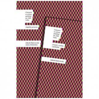 Cenzura w sztuce polskiej po 1989 - okładka książki