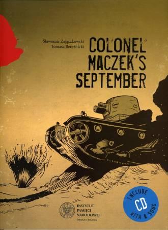 Colonel Maczeks September - okładka książki
