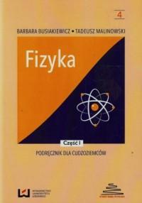 Fizyka. Podręcznik dla cudzoziemców cz. 1 - okładka podręcznika