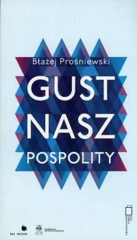 Gust nasz pospolity - okładka książki
