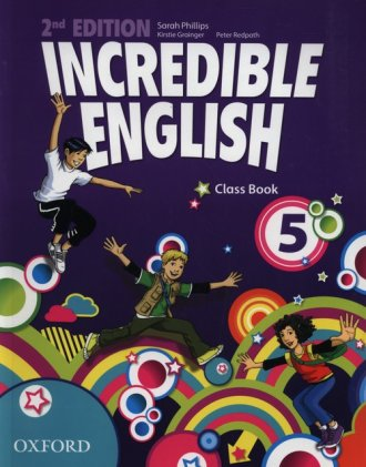 Incredible English 5. Class Book - okładka podręcznika