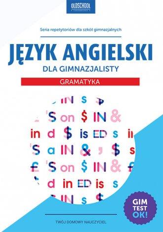 Język angielski dla gimnazjalisty. - okładka podręcznika