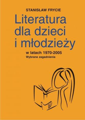 Literatura dla dzieci i młodzieży - okładka książki