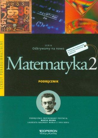 Odkrywamy na nowo. Matematyka 2. - okładka podręcznika